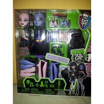 Oferta !!!! Crea Tu Monster High-vampira Y Monstruo Marino.