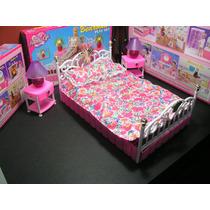 Barbie, Gloria, Muñecas, Juego De Dormitorio - Accesorios.