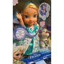 Frozen Elsa Vestido Mágic Muñeca Interactiva Original Disney