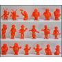 Pack 18 Muñecos Chavo Del Ocho De Coleccion Color Rojo