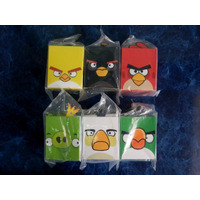 Angry Birds Mcdonalds 2012 Set Completo 6 Toys China
