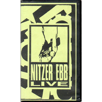 Vhs Promocional Nitzer Ebb Live In New Orleans 1988 & Videos