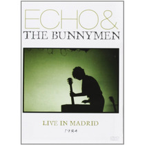 Dvd Original Echo & The Bunnymen Live In Madrid 31 Mayo 1984
