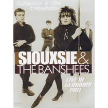 Dvd Original Siouxsie & The Banshees Live In Germany 1981