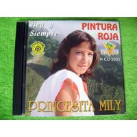 Cd Pintura Roja Hoy Y Siempre Princesita Mily Chicha Peruana