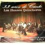Los Huasos Quincheros 33 Años De Canto Disco Vinilo