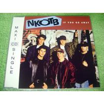 Cd Single New Kids On The Block If You Go Away 1991 4 Tracks
