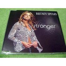 Cd Single Britney Spears Stronger 4 Tracks Edic. Australiana