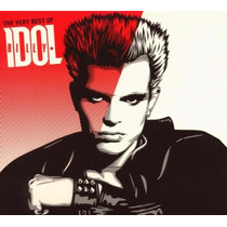 Cd Original Dvd The Very Best Of Billy Idol Idolize Yourself