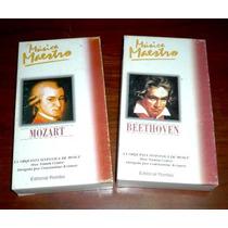 Música Maestro Mozart Beethoven Orquesta Moscú Rusia 2 Vhs