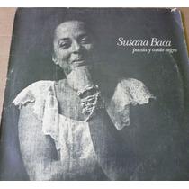 Susana Baca Lp Pablo Neruda Poesia Y Canto Negro Benedetti