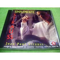Cd Jean Paul Strauss Simplemente 1994 Gian Marco Gianmarco