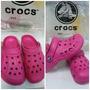 Lindas Crocs Baya Kids - Fucsia Talla C12/13 = 29/30