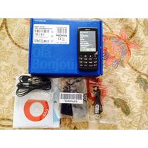 Stock Nokia X3-02 Libre De Fabrica 3g 5mpx Negro