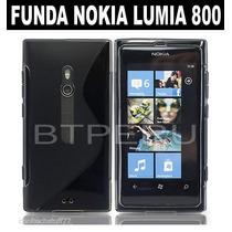 Funda Gel Para Nokia Lumia 800 Protector Flexible Tpu