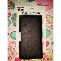 Pedido Estuche Nokia 1520 Cuero Gancho De Correa Clip