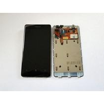 Pedido: Pantalla Interno+tactil Unica Lumia 800 Negro