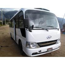 Se Vende Custer Hyundai Del 2012 En Buenas Condiciones!!!!