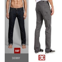 Jean Dc Relaxed Fit, Abercrombie & Fitch Jean Modelo Skinny