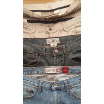 Jor Lote Jeans Y Pantalones: Quiksilver, Lost. Gap Y Dockers