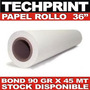 Rollo Papel Bond 36 X 150