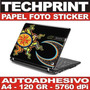 Papel Fotografico A4 Autoadhesivo Skin Protector Laptop Cpu