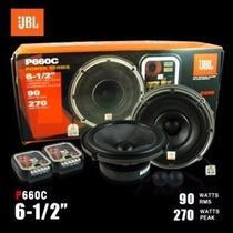 Set De Componentes Jbl Mod P660c 270 Watts 100% Originales