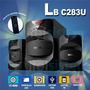 Parlante 2.1 Bluetooth ,radio Fm, Usb,sd Lb-c283u C/control