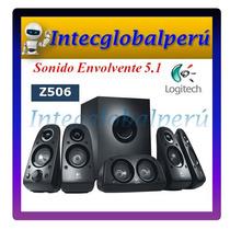 Parlante Logitech 5.1 Z506 75 Rms Sonido Envolvente 3d