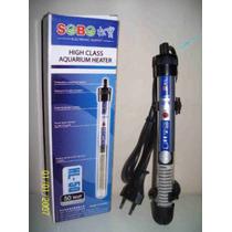 Termostato Regulable Sobo De 50 Watts Para Acuario Peces