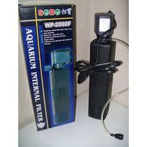 Filtro Para Acuario Wp-2000f Sobo De 880 Litros / Hora Peces