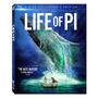 Life Of Pi - Bluray 3d+2d+dvd Nuevo Y Sellado!!