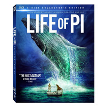 Life Of Pi - Bluray 3d+2d+dvd Nuevo Y Sellado!!