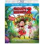 Blu Ray Lluvia De Hamburguesas 2 En 3d - 2d - Stock - Nuevo