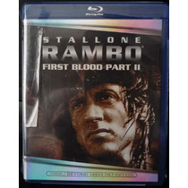Rambo Ii Bluray - Original - Sellado - Entrega Inmediata