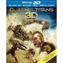 Blu Ray Furia De Titanes 3d - 2d - Stock - Nuevo - Sellado