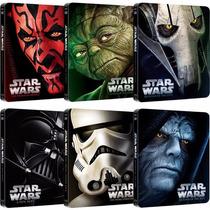 Star Wars / Coleccion Metalica Bluray !! Limitada