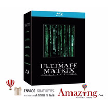 The Ultimate Matrix Collection: Blu-ray 6dis Sellado Amazing