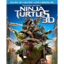 Blu Ray Tortugas Ninja 3d - 2d - Stock - Nuevo - Sellado