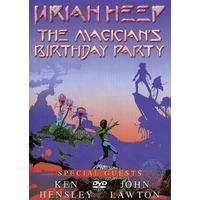 Dvd Uriah Heep The Magician Birthday Party