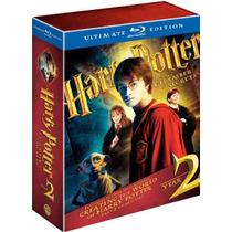 Harry Potter 2 Ultimate Edition:blu-ray 3disc Navidad, Regal