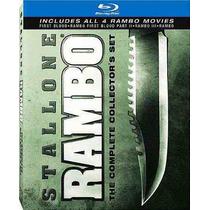 Rambo: Bluray Set De Colección Completa 4 Películas Navidad