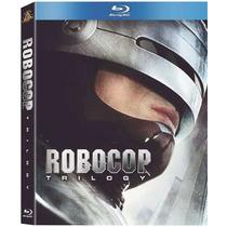 Robocop Trilogy: Blu-ray 3 Disc Sellado Navidad Amazing