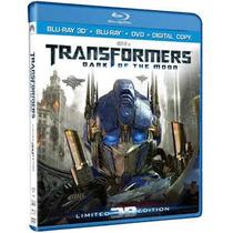 Trasnformers 3 Dark Of The Moon 3d+ Bd+ Dvd+ Digi Copy