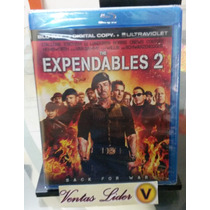 Los Indestructibles 2 Blu-ray / Nuevo Sellado - Stock
