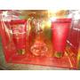 Perfume + Crema Para Cuerpo + Gel Para Baño --- Beyonce Heat