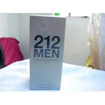 Perfume Colonia Hombre 212 Men Carolina Herrera 100ml Verano