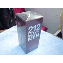 Perfumes Importados 212 Sexy Carolina Herrera Hombre 100ml