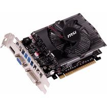 Tarjeta De Video 2gb Ddr3 Msi Geforce Gt730 N730-2gd3