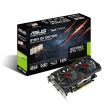 Tarjeta De Video Asus Nvidia Geforce Gtx 750 Ti, 2gb Gddr5 1